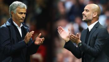 Tottenham-Manchester City, sarà ancora una volta Mourinho contro Guardiola
