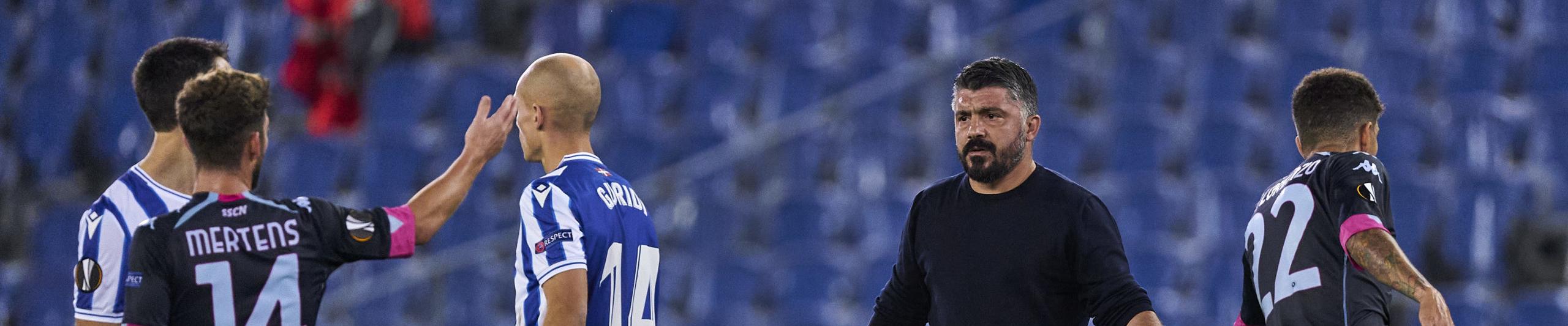 Napoli-Real Sociedad: azzurri sicuri del 1° posto solo con una vittoria