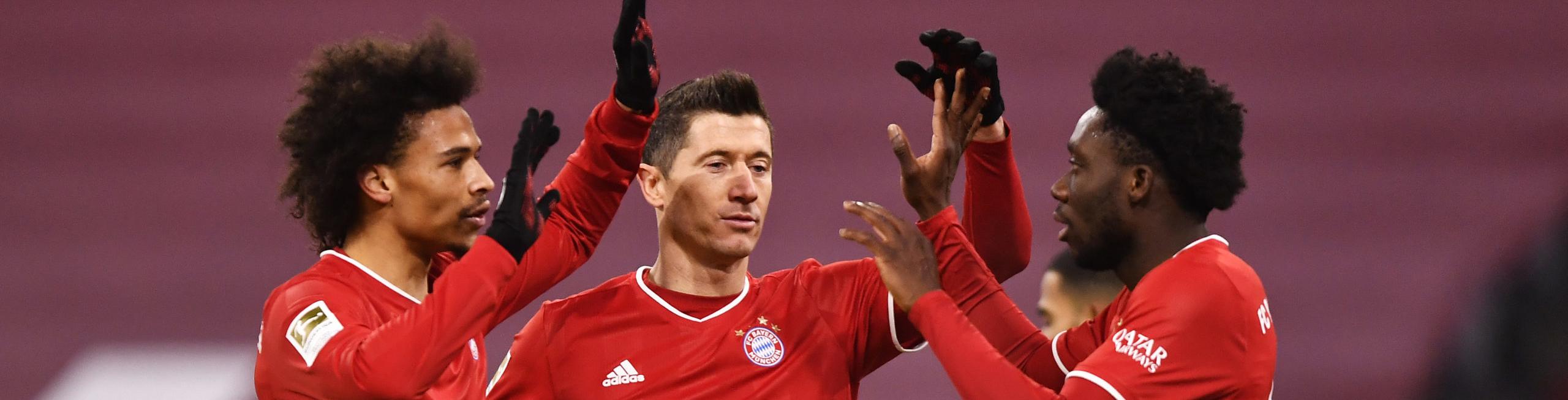 Borussia Monchengladbach-Bayern Monaco: i bavaresi preparano l'allungo
