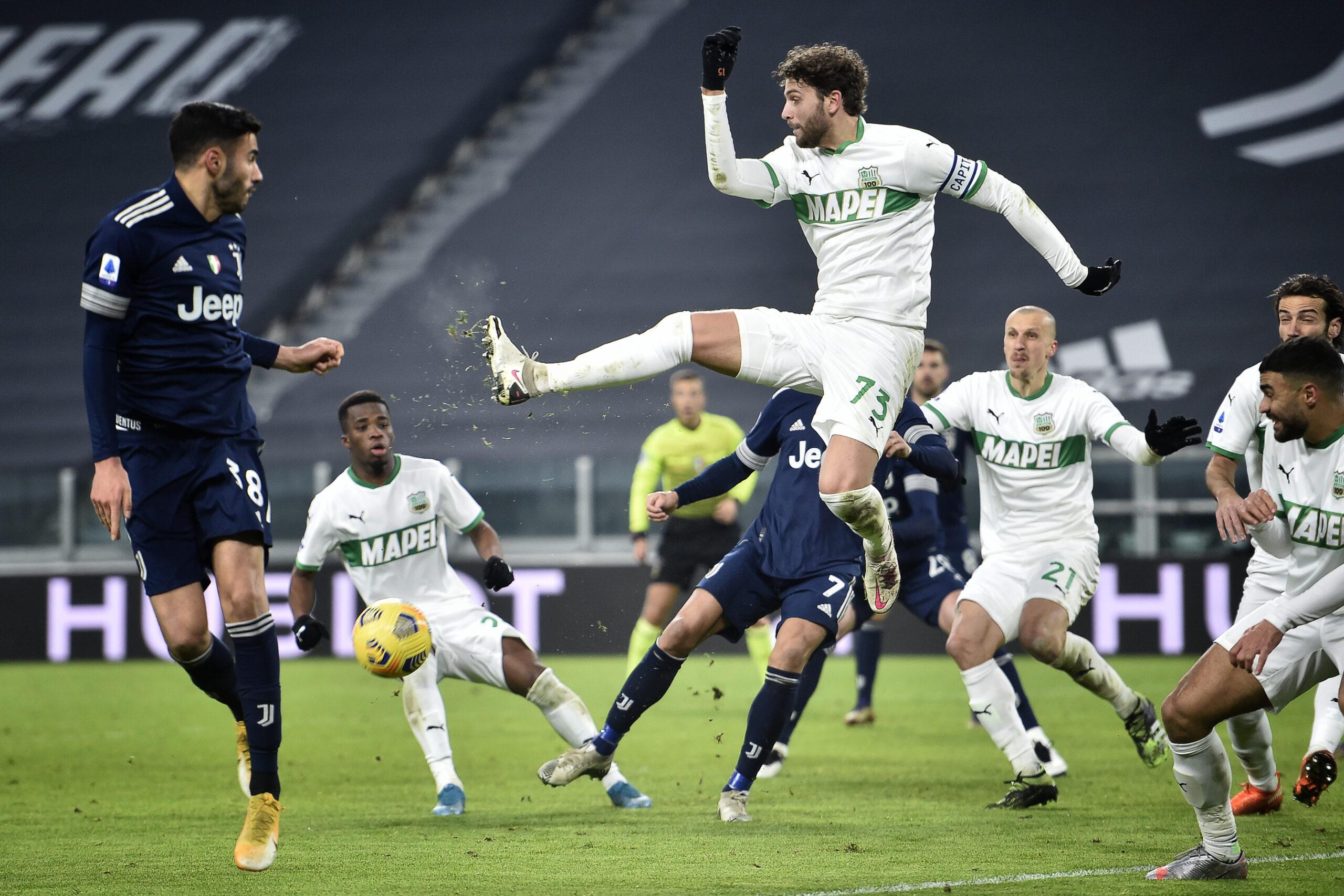 Quote scommesse Sassuolo Juventus