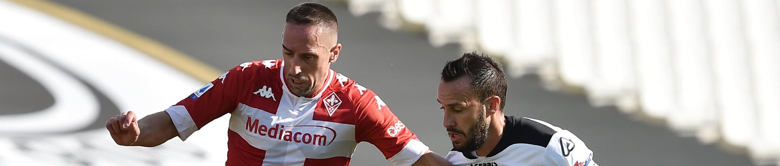Fiorentina-Spezia, i viola in difficoltà si aggrappano a Ribery