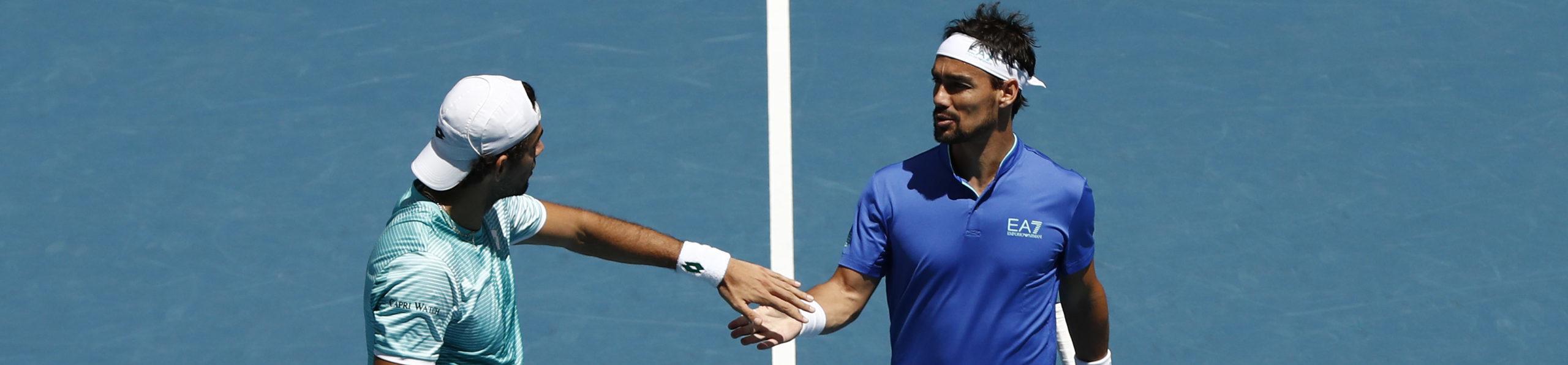 ATP Cup, quote finale Italia-Russia: sarà Fognini-Rublev e Berrettini-Medvedev