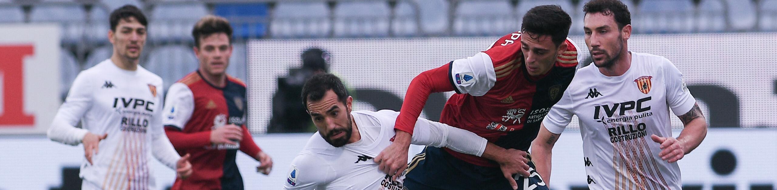 Benevento-Cagliari, spareggio per la salvezza: chi si ferma è perduto