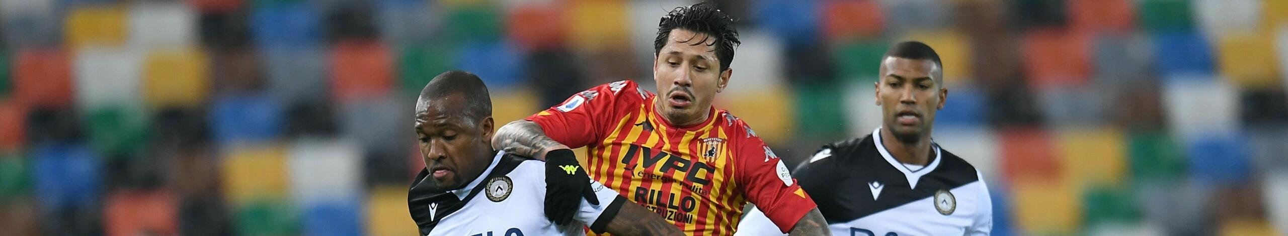 Benevento-Udinese, scontro tra due squadre in crisi di risultati