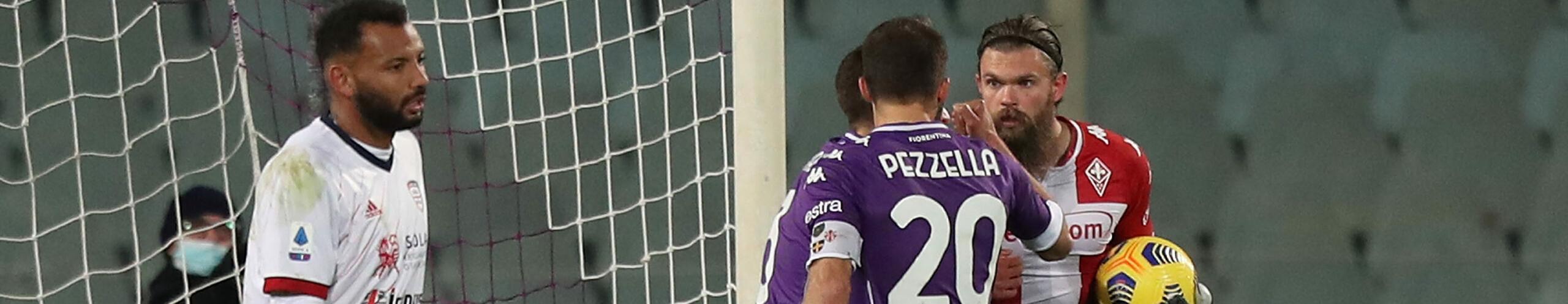 Cagliari-Fiorentina, spareggio tra deluse a un passo dalla salvezza