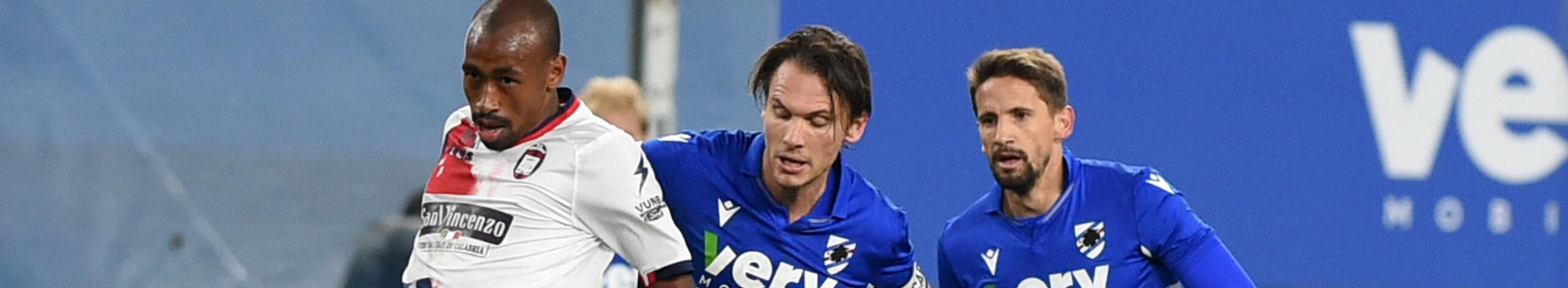 Crotone-Sampdoria, sfida tra due squadre ormai senza obiettivi