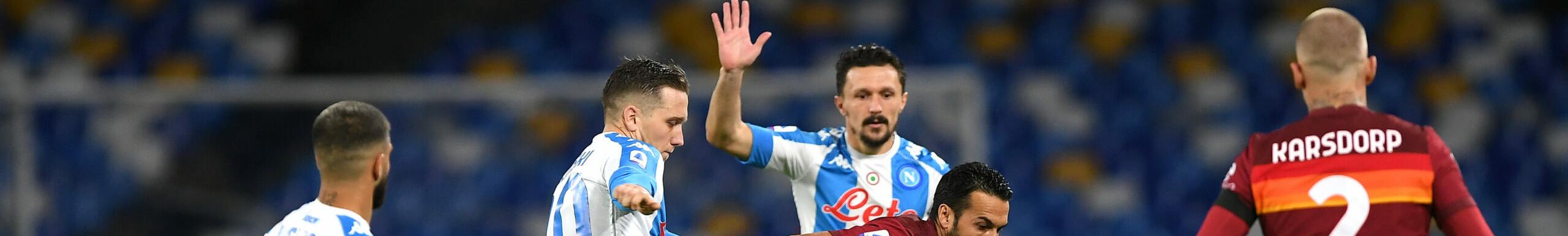 Roma-Napoli, derby del Sole con vista Champions