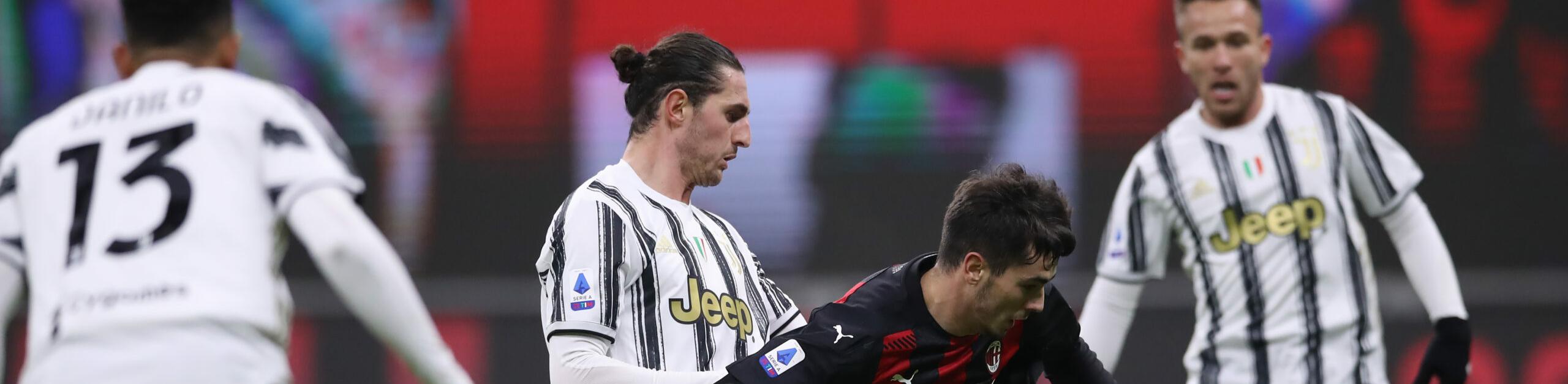 Juventus-Milan, tra le due grandi in crisi è spareggio-Champions