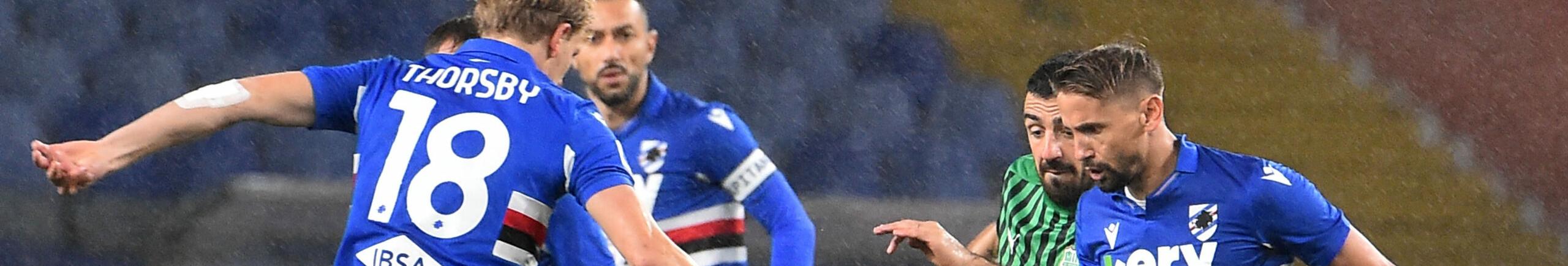 Sassuolo-Sampdoria, i neroverdi cercano di tenere aperta la finestra per l'Europa