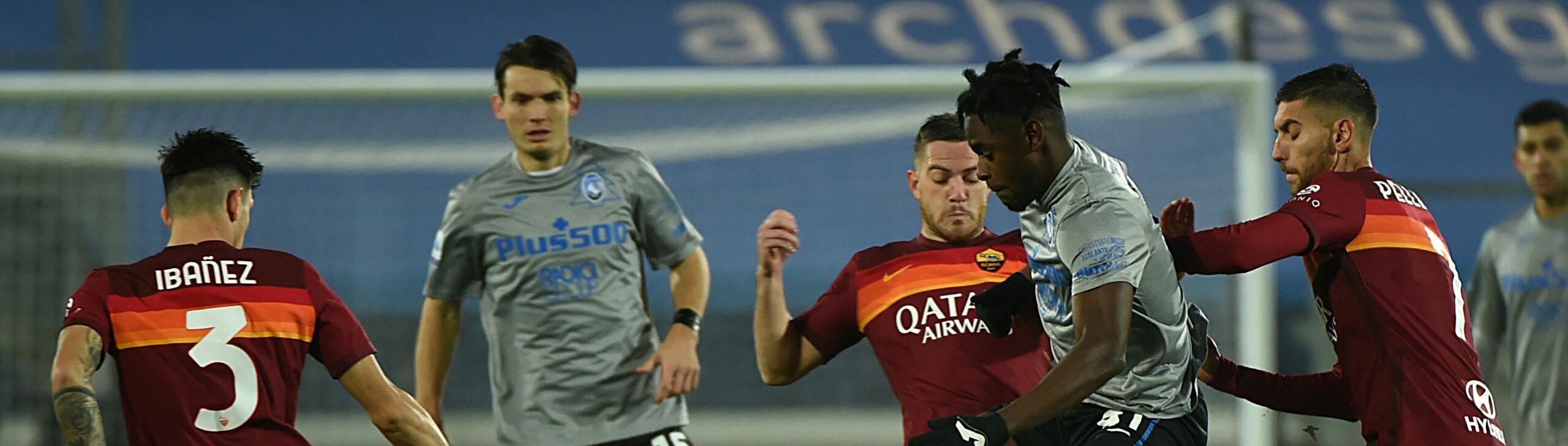 Roma-Atalanta: giallorossi all'ultima spiaggia-Champions, Dea lanciatissima