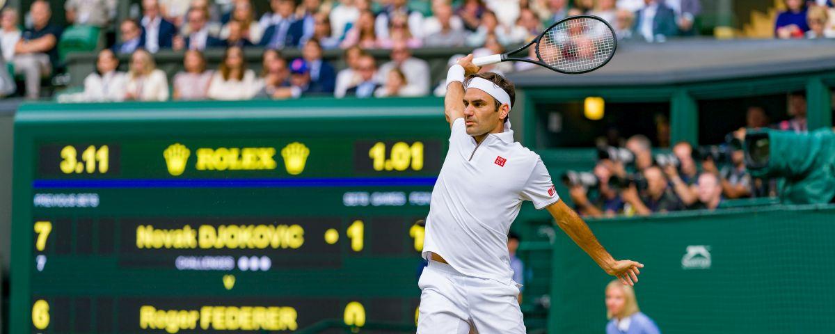 Roger Federer a Wimbledon 2021 - quote e favoriti