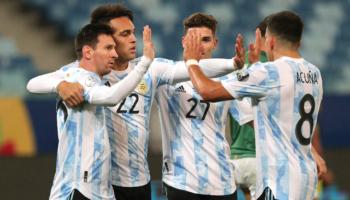 Argentina-Ecuador quote 04-07-2021