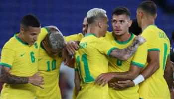 Brasile-Costa d'Avorio Giochi Olimpici 25-07-2021