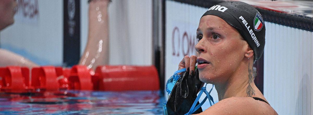 Federica Pellegrini - finale 200m stile libero Olimpiadi Tokyo