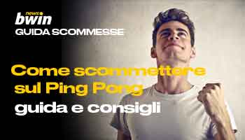 Guida - come scommettere sul Ping Pong