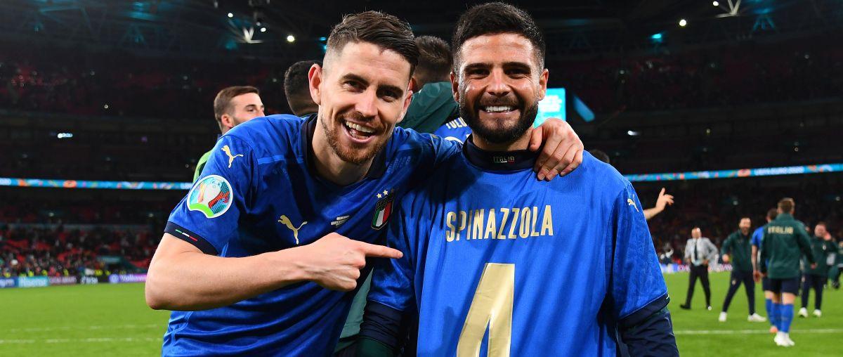 Italia a Euro 2020 - Jorginho e Insigne