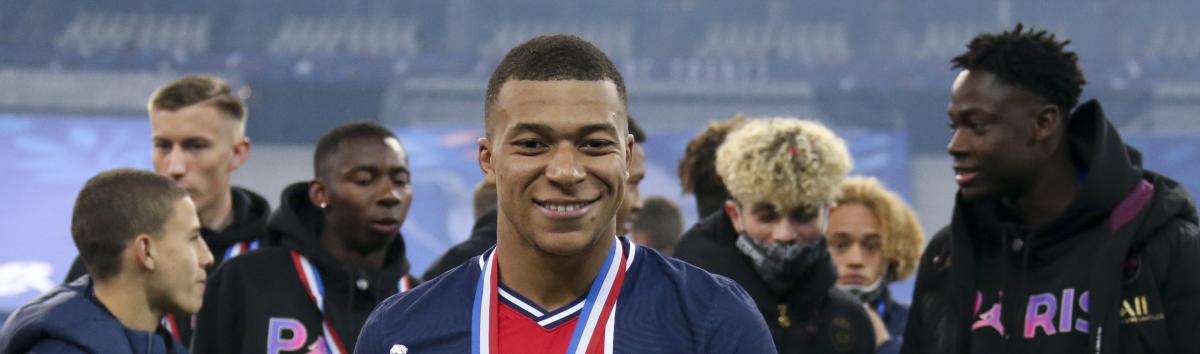 Ligue 1 presentazione stagione 2021-22 PSG Mbappe