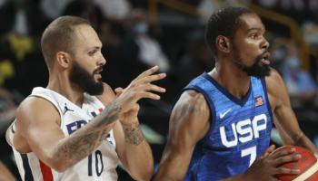 Francia-Stati Uniti: Batum e Fournier fanno miracoli, ma l'oro del basket lo prenota Durant