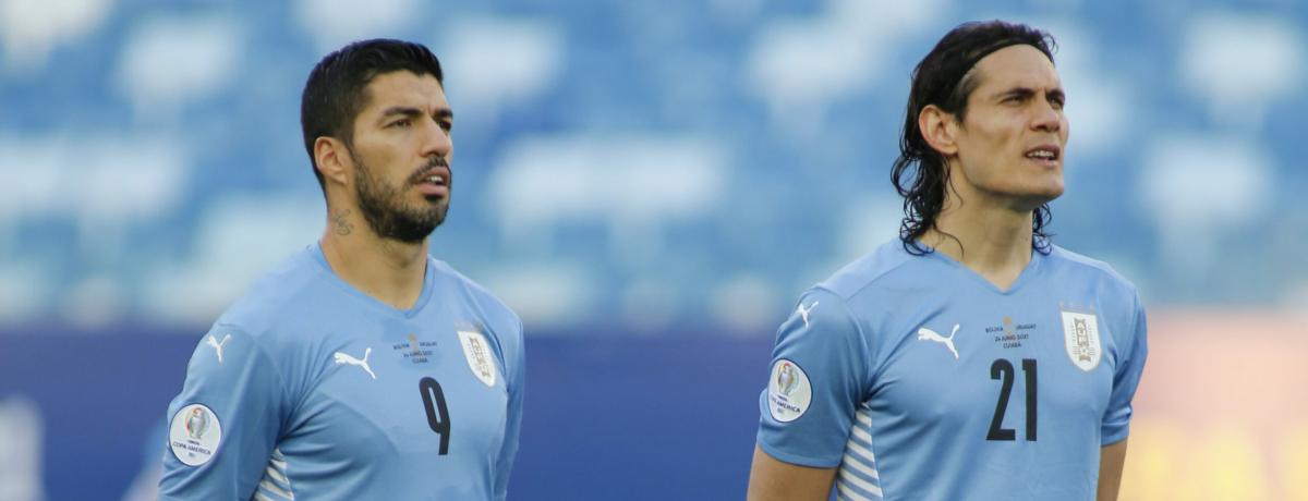 Argentina-Uruguay: c'è Lautaro, torna la coppia Suarez-Cavani